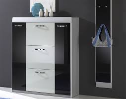 Small White Storage Cabinet by Furniture Accessories Small White Modern Wood Shoe Rack With