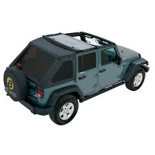 jeep black 4 door bestop trektop nx black diamond complete replacement soft top