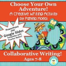 choose your own adventure story template ppt and google slides