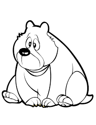funny bear coloring u0026 coloring pages