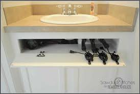 Bathroom Sink Organizer Ideas Diy Under Kitchen Sink Storage