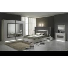 chambre à coucher city grise panel meuble magasin de meubles en