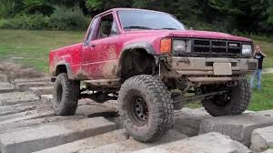 1985 toyota 4x4 on obstacle course southington offroad youtube