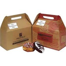 donut boxes custom printed with your logo