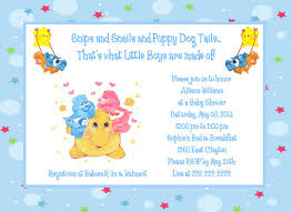 care baby shower care bears moon and baby shower invitations