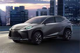 lexus suv concept lexus lf nx suv concept gets turbo four top vehicle