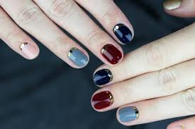 the easiest fall nail art you u0027ll see this season