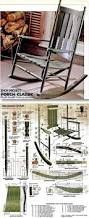 Childs Rocking Chair Plans Ideas Classic Rocking Chair Plans Furniture Plans And Projects
