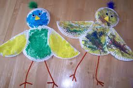 paper plate bird craft laura williams