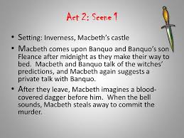 themes of macbeth act 2 scene 1 reading log lamm colling ppt video online download