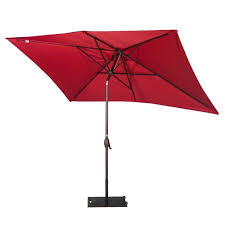 Red Rectangular Patio Umbrella Best 25 Rectangular Patio Umbrella Ideas On Pinterest Patio Set