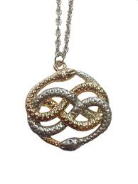 snake pendant necklace images Auryn necklace neverending story atreyu infinity snake movie gold jpg