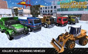 loader u0026 dump truck winter sim android apps on google play