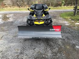 click and go2 snow plow can am atv forum