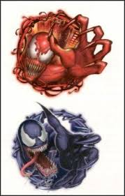 carnage u0026 venom temporaray tattoo by tattoo fun 1 99 venom