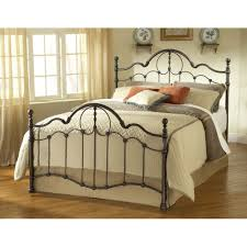 oil rubbed bronze headboard kirkwell iron bed in brushed bronze humble abode