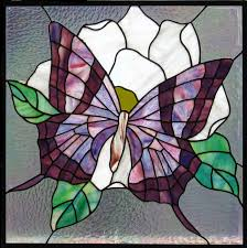 custom designs stained glass peace