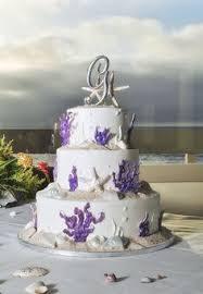 beach theme wedding flowers beach themed wedding cake photo by