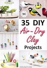 air dry clay projects