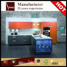 high quality luxury pre assembled fiberglass wood kitchen cabinets
