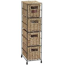 Wicker Basket Bathroom Storage Wicker Bathroom Storage
