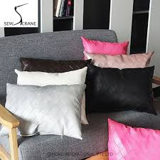 Cheap Sofa Pillows Modern Makeover And Decorations Ideas Red Sofa With Modern