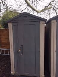 Keter Plastic Keter Apex 6 X 4 Garden Plastic Shed One Shed Left Shed Where