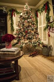 Christmas Tree Decorating Ideas Southern by Living Room Living Room Christmas Decorations Southern Living