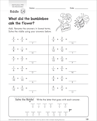 Add And Subtract Fractions Worksheet Adding Fraction With Like Denominators Worksheets U0026 Fractions
