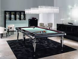 glass pool table family room contemporary with glass billiard