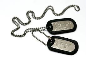 tag chain necklace images Personalised us military stainless steel dog tag set 2 x exact jpg