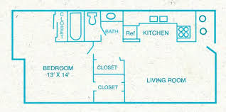 Security Floor Plan Floor Plans 1 And 2 Bedroom Apartments And Townhouses