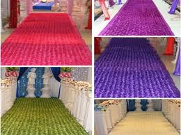 wedding supplies online new wedding centerpieces favors 3d petal carpet