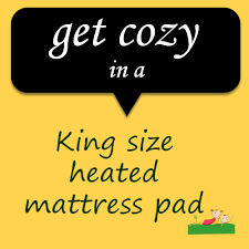 king size heated mattress pad coolest finds