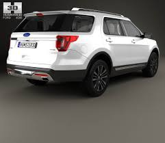 ford bronco 2015 interior ford explorer u502 platinum with hq interior 2015 3d model hum3d