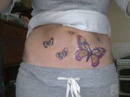 butterflies on stomach 25 dandy stomach tattoos for