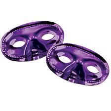 mardi gras gear purple fan gear