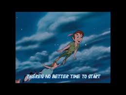 you can fly peter pan you can fly lyrics youtube
