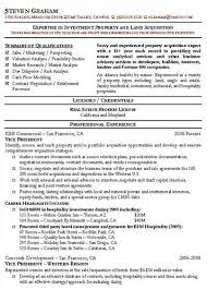 tips on creating a resume resume example real estate professional resume sample real estate