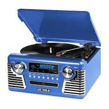 50 u0027s retro bluetooth record player with cd player
