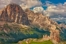Dolomites Italy Map by Tofanes And Cinque Torri Dolomites Italy Cortina D U0027ampezzo