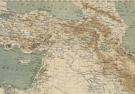 map asie file 1883 alep detail map l asie antérieure by perron bpl 10106