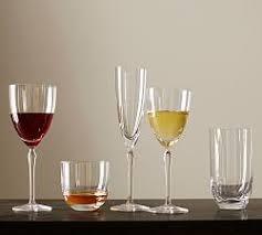 Wine Glasses White U0026 Red Wine Glasses Pottery Barn