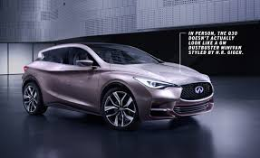 infinity car dissected infiniti q30 concept u2013 feature u2013 car and driver