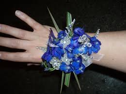 royal blue corsage royal blue corsage in wi a new leaf flowers and gifts