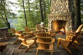 Mountain Outdoor Furniture - 100 fireplace design ideas for a warm home during winter