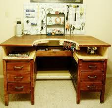 repurposed desk into jeweler u0027s bench love this idea now i just