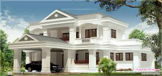 3100 sq feet colonial house plan design plans ft luxihome 3100 sq feet luxury 5 bhk villa exterior kerala home design a 3100 sq ft house