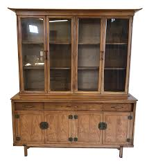 Chinese Credenza Vintage U0026 Used Asian China And Display Cabinets Chairish