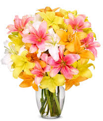 bouquet of lilies stunning bouquet premium at from you flowers